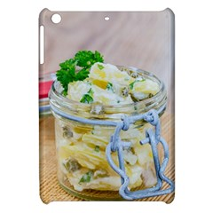 Potato Salad In A Jar On Wooden Apple Ipad Mini Hardshell Case by wsfcow