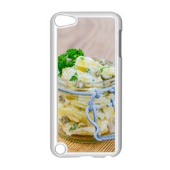 Potato Salad In A Jar On Wooden Apple Ipod Touch 5 Case (white) by wsfcow