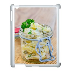 Potato Salad In A Jar On Wooden Apple Ipad 3/4 Case (white) by wsfcow