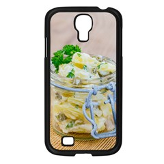 Potato Salad In A Jar On Wooden Samsung Galaxy S4 I9500/ I9505 Case (black) by wsfcow
