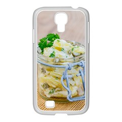 Potato salad in a jar on wooden Samsung GALAXY S4 I9500/ I9505 Case (White)