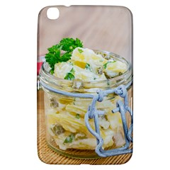 Potato Salad In A Jar On Wooden Samsung Galaxy Tab 3 (8 ) T3100 Hardshell Case  by wsfcow