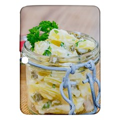 Potato Salad In A Jar On Wooden Samsung Galaxy Tab 3 (10 1 ) P5200 Hardshell Case  by wsfcow