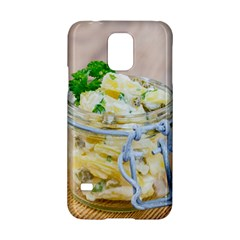 Potato Salad In A Jar On Wooden Samsung Galaxy S5 Hardshell Case  by wsfcow