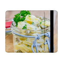 Potato Salad In A Jar On Wooden Samsung Galaxy Tab Pro 8 4  Flip Case by wsfcow