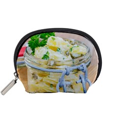 Potato Salad In A Jar On Wooden Accessory Pouches (small)  by wsfcow