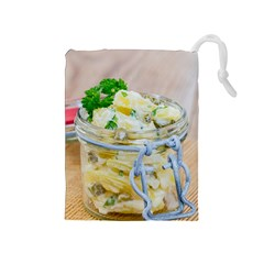 Potato Salad In A Jar On Wooden Drawstring Pouches (medium)  by wsfcow