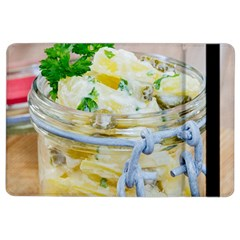 Potato Salad In A Jar On Wooden Ipad Air 2 Flip by wsfcow