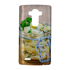 Potato Salad In A Jar On Wooden Lg G4 Hardshell Case by wsfcow
