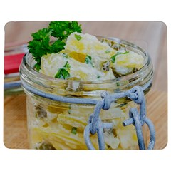 Potato salad in a jar on wooden Jigsaw Puzzle Photo Stand (Rectangular)