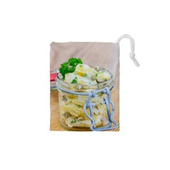 Potato Salad In A Jar On Wooden Drawstring Pouches (xs)  by wsfcow