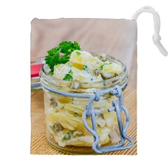 Potato Salad In A Jar On Wooden Drawstring Pouches (xxl) by wsfcow