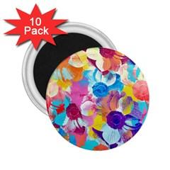 Anemones 2 25  Magnets (10 Pack)  by DanaeStudio