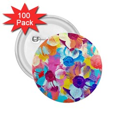 Anemones 2 25  Buttons (100 Pack)