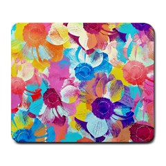 Anemones Large Mousepads by DanaeStudio