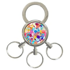 Anemones 3 Ring Key Chains