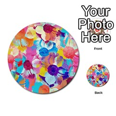 Anemones Multi Purpose Cards (round)  by DanaeStudio
