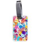 Anemones Luggage Tags (Two Sides) Back