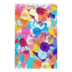 Anemones Shower Curtain 48  X 72  (small)  by DanaeStudio