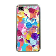 Anemones Apple Iphone 4 Case (clear)