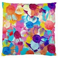Anemones Large Cushion Case (one Side) by DanaeStudio