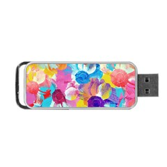 Anemones Portable Usb Flash (two Sides)