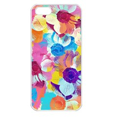 Anemones Apple Iphone 5 Seamless Case (white) by DanaeStudio