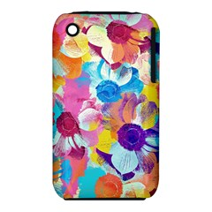 Anemones Apple Iphone 3g/3gs Hardshell Case (pc+silicone)