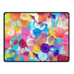 Anemones Double Sided Fleece Blanket (small)