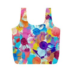 Anemones Full Print Recycle Bags (m)  by DanaeStudio