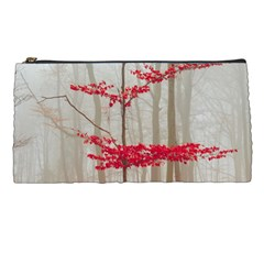 Magic forest in red and white Pencil Cases