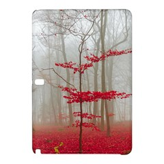 Magic forest in red and white Samsung Galaxy Tab Pro 10.1 Hardshell Case