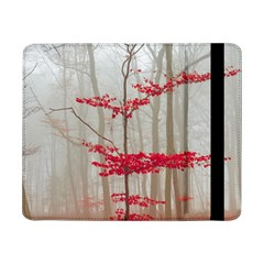 Magic Forest In Red And White Samsung Galaxy Tab Pro 8 4  Flip Case by wsfcow