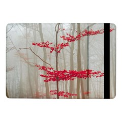 Magic Forest In Red And White Samsung Galaxy Tab Pro 10 1  Flip Case by wsfcow