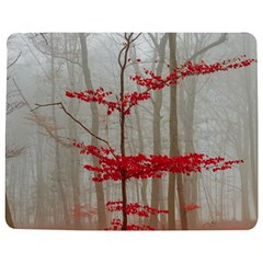 Magic forest in red and white Jigsaw Puzzle Photo Stand (Rectangular)