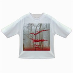 Magic Forest In Red And White Infant/toddler T Shirts by wsfcow