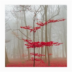 Magic Forest In Red And White Medium Glasses Cloth (2 Side)