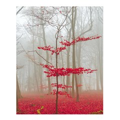 Magic Forest In Red And White Shower Curtain 60  X 72  (medium)  by wsfcow