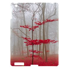 Magic Forest In Red And White Apple Ipad 3/4 Hardshell Case