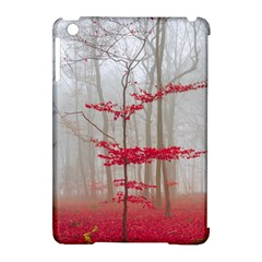 Magic Forest In Red And White Apple Ipad Mini Hardshell Case (compatible With Smart Cover)