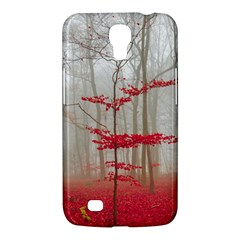 Magic Forest In Red And White Samsung Galaxy Mega 6.3  I9200 Hardshell Case