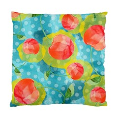 Red Cherries Standard Cushion Case (one Side) by DanaeStudio