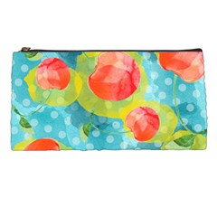 Red Cherries Pencil Cases by DanaeStudio