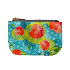 Red Cherries Mini Coin Purses by DanaeStudio