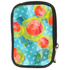 Red Cherries Compact Camera Cases by DanaeStudio