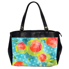 Red Cherries Office Handbags (2 Sides)