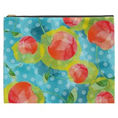 Red Cherries Cosmetic Bag (xxxl)