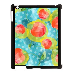 Red Cherries Apple Ipad 3/4 Case (black)