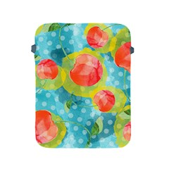 Red Cherries Apple Ipad 2/3/4 Protective Soft Cases by DanaeStudio