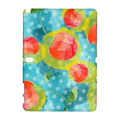 Red Cherries Samsung Galaxy Note 10 1 (p600) Hardshell Case